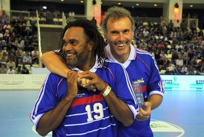 Academie Diomède_Diomède Cup_Christian Karembeu_Laurent Blanc