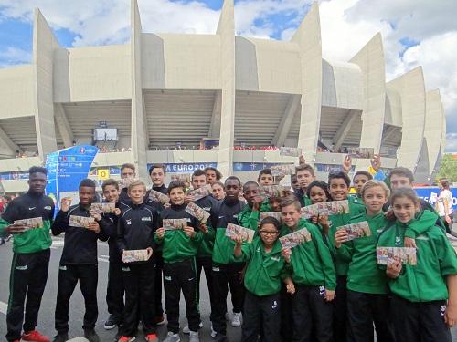 Les jeunes de l'Académie à l'UEFA EURO 2016